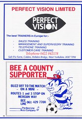 Stockport County vs Scarborough - 1991 - Page 34 (The Sky Strikers) Tags: stockport county scarborough barclays league division four edgeley park welcome to the friendly football club official programme 80p