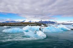 冰川(DSC_2086) (nans0410(busy)) Tags: iceland glaciallake vatnajökullnationalpark breiðamerkurjökull atlanticocean 杰古沙龍冰河湖 冰島 冰河湖