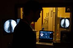Radiology (Mango982) Tags: radiology medicine hospital shilouette work lavoro medicina ospedale radiologia