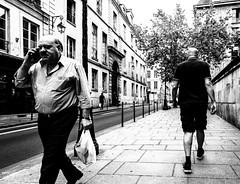OldBoys2.jpg (Klaus Ressmann) Tags: klaus ressmann omd em1 fparis france peoplestreet summer blackandwhite candid flcpeop man phone streetphotography unposed klausressmann omdem1