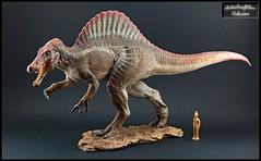 Spinosaurus  (1:35) (RobinGoodfellow_(m)) Tags: spinosaurus wdragon jurassic park movie dinosaur dinosaurs figure model statue prehistoric 135
