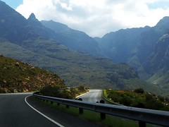 Route 62 (selinamochrie) Tags: southafrica africa capetown landscape nature outdoors mountains road roadways dual carriage way route62 route 62 robertson western cape valley clouds sky vegetation