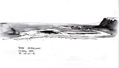 Cape Paterson Ocean Pool BW (panda1.grafix) Tags: approved capepaterson victoria seascape inkwash