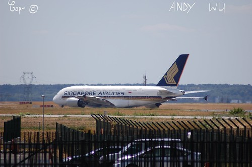 Airbus A380 Singapore Airlines (07/29/2019)