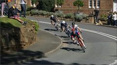 Breakaway at Caldy (steeedm) Tags: tourofbritain ovoenergytourofbritain wirralstage cycling wirral caldy caldyvillage breakaway