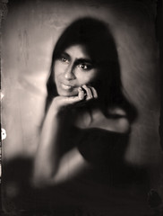 Janette (guillaume264) Tags: diy 180mm collodion wetplate tintype ferrotype ambrotype chambre 13x18 poeboy