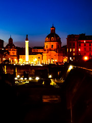 Fori Imperiali Night (Nabel Grant) Tags: archidaily architecture art beautiful city design perspective town urban