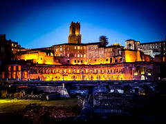 Fori Imperiali Night (Nabel Grant) Tags: archidaily architecture art beautiful building city design