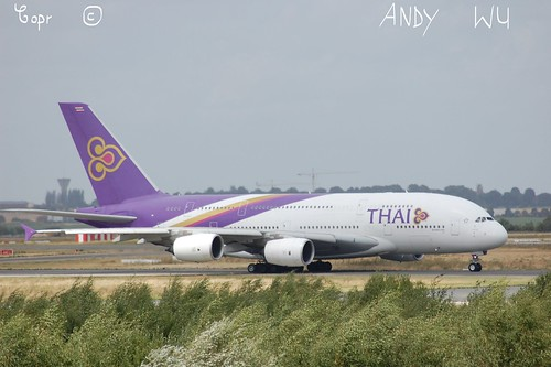Airbus A380 Thai Airways (08/10/2019)