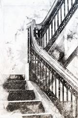 empire 63 - no. 1 (rockinmonique) Tags: slide stairs mono monochrome bw blackwhite moniquewphotography canon canont6s tamron tamron45mm copyright2019moniquewphotography
