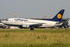 D-ABJD (PlanePixNase) Tags: eddl dus dusseldorf düsseldorf airport aircraft planespotting lohhausen lufthansa 737 737500 b735 boeing