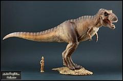 Tyrannosaurus  (1:35) (RobinGoodfellow_(m)) Tags: wdragon tyrannosaurus rex model figure statue china jurassic park prehistoric theropod