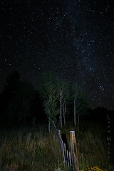 heavenly fence friday (LanaScape Photos) Tags: typical alt lightpainting fence happyfencefriday friday colorado nightphotography stars