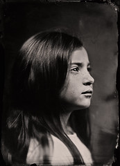Marie-Jeanne (guillaume264) Tags: epis epidiascope leitz 400mm f4 collodion wetplate tintype ferrotype ambrotype chambre 13x18 poeboy