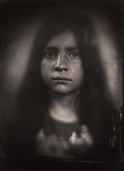 Marie-Jeanne (guillaume264) Tags: diy 180mm collodion wetplate tintype ferrotype ambrotype chambre 13x18 poeboy
