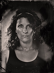 Maeva (guillaume264) Tags: rodagon rodenstock 300mmf56 collodion wetplate tintype ferrotype ambrotype chambre 13x18 poeboy