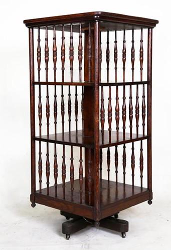 Revolving Bookcase ($414.40)