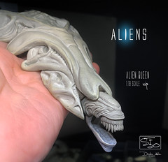 QUEEN65 (sith_fire30) Tags: alien aliens aliensdefiance dark horse comics egg morpher queen hive sculpting monsters custom action figures aves art sculpt xenomorph lv426 sithfire30 allen dayton giger james cameron
