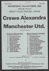 Crewe Alexandra v Manchester United X1 (Leslie Millman-Manchesterunitedman1) Tags: crewe alexandra