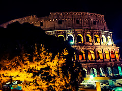 Night Colosseum (Nabel Grant) Tags: archidaily architecture art beautiful city design perspective town urban