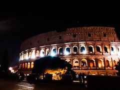 Night Colosseum (Nabel Grant) Tags: archidaily art beautiful building city design geometric perspective town urban