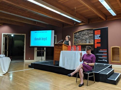 danah boyd 3,  EFF Pioneer Awards, San Francisco, CA, USA