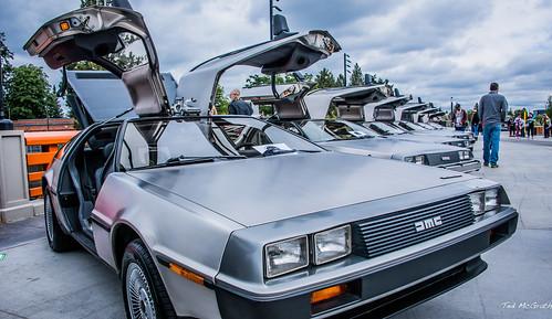 2019 - Road Trip - 18 - Spokane Riverfront Park - DeLorean Expo - Car Show - 2 of 3