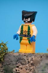 _DSC2066 Logan (Adriano Clari) Tags: primitivi minifigure toy giocattoli personaggio adriano clari astronauta giocattolo armigero soldato poliziotto macro star wars avengers agents shield strada ninja logan xmen