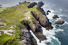 As far north as Ireland goes...Malin Head (Sean Hartwell Photography) Tags: malinhead donegal ireland wildatlanticway atlantic ocean waves sea aerial drone dji mavicpro wind swept coast