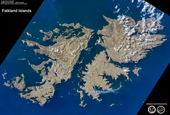 Falkland Islands (RikyUnreal) Tags: iss expedition60