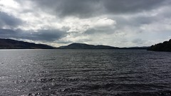 Loch Duntelchaig, Strathnairn, Aug 2019 (allanmaciver) Tags: loch duntelchaig highlands grey water mountains big moving allanmaciver