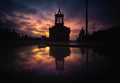 Santa Mariña de Lucí (Teo) (Noel Feans) Tags: santa mariña luci teo galiza galicia sony a7 iii a7iii voigtlander 15 mencer sunrise