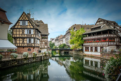 Strasbourg 2019 (EBoss Fotografie) Tags: strasbourg elzas france travel tourism city europe water canal river architecture building reflections fujifilm xt20 sky clouds soe twop supershot