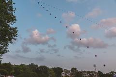 EXPERIENCE-104629-rohofoto (foundersentertainment) Tags: sunday gb19 balloons sky day balloon chain balloonchain