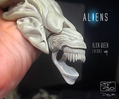 QUEEN67 (sith_fire30) Tags: alien aliens aliensdefiance dark horse comics egg morpher queen hive sculpting monsters custom action figures aves art sculpt xenomorph lv426 sithfire30 allen dayton giger james cameron