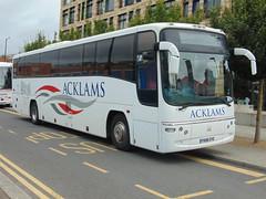YX06 GYO  ACKLAMS (Yorkshire Lass Born & Bred) Tags: yx06 gyo acklams wakefield rail replacement