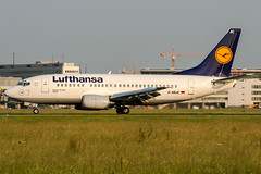 D-ABJC (PlanePixNase) Tags: eddl dus dusseldorf düsseldorf airport aircraft planespotting lohhausen lufthansa 737 737500 b735 boeing