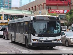 Winnipeg Transit #725 (vb5215's Transportation Gallery) Tags: winnipeg transit 2008 new flyer d40lfr
