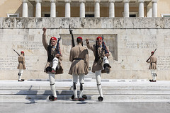 Changing Guard Athens 070919 N63A1168-a (Tony.Woof) Tags: changing guard athens monument unknown soldier hellenic parliament