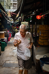 Daily Life in Chinatown (grab a pic) Tags: bangkok chinatown street portrait people man canon thailand outside eos outdoor streetphotography 5d 2019 yaowaratroad bangkokmetropolitanregion canoneos5dmarkiv