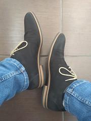 Friday the 13th 4 (Adam11051983) Tags: black derby dress feet foot footwear lace leather men mens nubuck shoe shoes sock socks