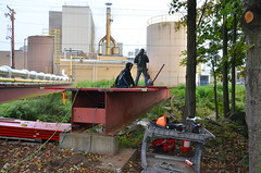 (aggie85) Tags: bridge construction ironwork newyork hamden plantercreek delaware westbranch