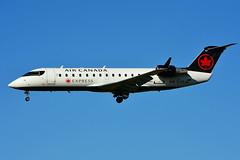 C-FEJA (Air Canada EXPRESS - JAZZ) (Steelhead 2010) Tags: aircanada aircanadaexpress jazz bombardier canadair crj crj200 yow creg cfeja