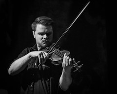 Violin (tim.perdue) Tags: black white bw monochrome nikon d5600 nikkor1680mm blackandwhite mono reissues band wide open spaces dixie chicks tribute concert thirty one west 31 newark ohio performance hall venue stage light shadow music country musician western bluegrass performer person figure man woman musical instrument violin fiddle strings neck scroll bow four