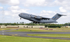 C17 Globmaster III SAC 01 at the Royal International Air Tattoo (JetPhotos.co.uk) Tags: airdisplay airshow aircraft bobsharples flying military raffairford riat royalinternationalairtattoo aviation wwwjetphotoscouk c17 c17a globemaster transport squadron sac heavyairliftwing 01 080001 haw sac01 papa01 papaairbase globemasteriii multinational heavyliftwing operationallevelunit nato