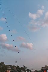 EXPERIENCE-104642-rohofoto (foundersentertainment) Tags: sunday gb19 balloons sky day blue balloonchain pagoda