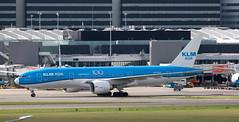 B777 | PH-BQF | AMS | 20190913 (Wally.H) Tags: boeing 777 boeing777 b777 phbqf klm royaldutchairlines klmasia 100 ams eham amsterdam schiphol airport