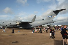 01 (IndiaEcho) Tags: force aircraft military air royal raf fairford egva show england tattoo canon eos aviation aeroplane gloucestershire airshow international 19 riat 2019 1000d wing 01 c17 boeing globemaster heavy nato hungarian airlift 080001