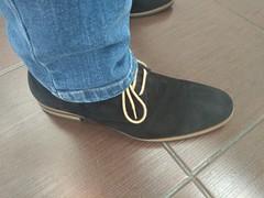 Friday the 13th 3 (Adam11051983) Tags: black derby dress feet foot footwear lace leather men mens nubuck shoe shoes sock socks