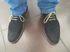 Friday the 13th 2 (Adam11051983) Tags: black derby dress feet foot footwear lace leather men mens nubuck shoe shoes sock socks